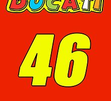 Ducati MotoGP Poster by Steve Madsen