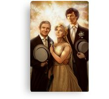 The Vow Canvas Print