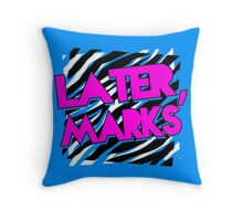 Dolph Ziggler - Later, Marks Throw Pillow
