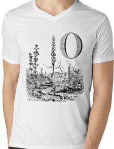 Garden Alphabet Letter O Mens V-Neck T-Shirt