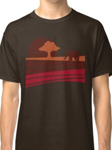 African sunset Classic T-Shirt