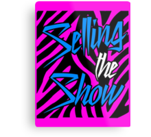 Dolph Ziggler - Selling the Show Metal Print