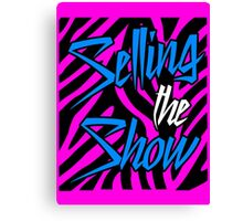 Dolph Ziggler - Selling the Show Canvas Print
