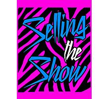 Dolph Ziggler - Selling the Show Photographic Print