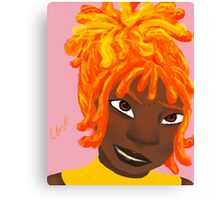 Flame Princess (Human) Canvas Print