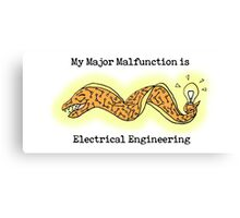 Electrical Engineering Major Canvas Print