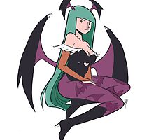 Morrigan by magicalasian