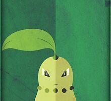 Pokemon - Chikorita #152 by yaz17