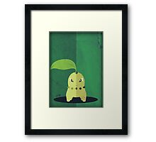 Pokemon - Chikorita #152 Framed Print