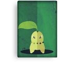 Pokemon - Chikorita #152 Canvas Print
