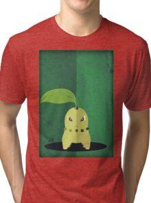 Pokemon - Chikorita #152 Tri-blend T-Shirt