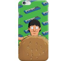 Gene Belcher Keyboard Pattern Green iPhone Case/Skin