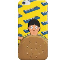 Gene Belcher Keyboard Pattern Yellow iPhone Case/Skin