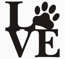 LOVE DOG PAW by panzerfreeman