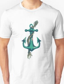 Anchor and Rope With Barnacles Unisex T-Shirt