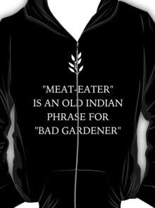 Funny Vegan 'Bad Gardener' T-Shirt