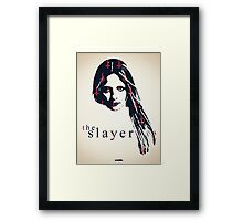 Icons - Buffy Summers Framed Print