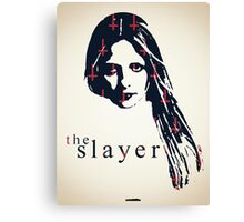 Icons - Buffy Summers Canvas Print