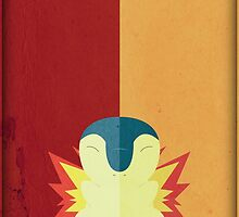 Pokemon - Cyndaquil #155 by yaz17