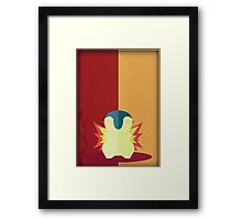 Pokemon - Cyndaquil #155 Framed Print