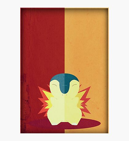 Pokemon - Cyndaquil #155 Photographic Print