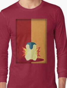 Pokemon - Cyndaquil #155 Long Sleeve T-Shirt