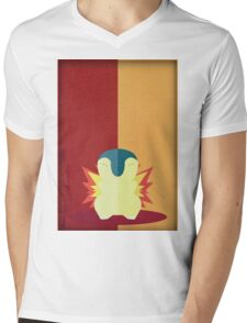 Pokemon - Cyndaquil #155 Mens V-Neck T-Shirt