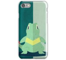 Pokemon - Totodile #158 iPhone Case/Skin