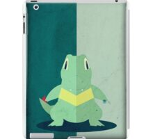 Pokemon - Totodile #158 iPad Case/Skin