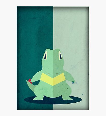 Pokemon - Totodile #158 Photographic Print