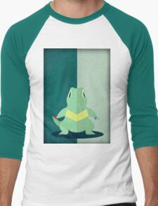 Pokemon - Totodile #158 Men's Baseball ¾ T-Shirt