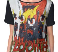 Lord Hater Chiffon Top