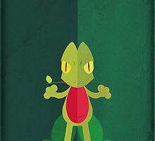 Pokemon - Treecko #252 by yaz17