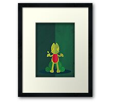 Pokemon - Treecko #252 Framed Print