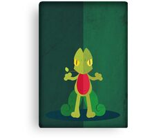 Pokemon - Treecko #252 Canvas Print