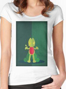 Pokemon - Treecko #252 Women's Fitted Scoop T-Shirt