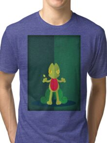Pokemon - Treecko #252 Tri-blend T-Shirt