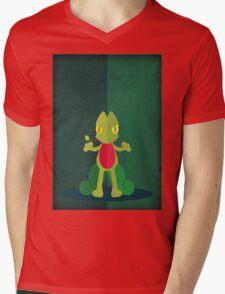 Pokemon - Treecko #252 Mens V-Neck T-Shirt