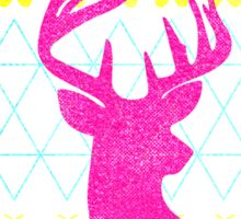 Ugly Hipster Sweater (Neon) Sticker