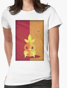 Pokemon - Torchic #255 Womens Fitted T-Shirt