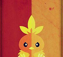 Pokemon - Torchic #255 by yaz17