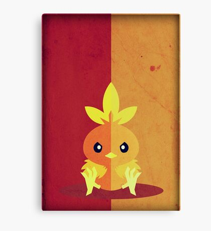 Pokemon - Torchic #255 Canvas Print