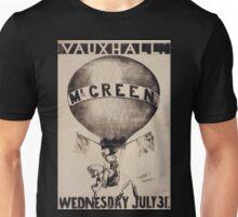 0372 ballooning Vauxhall Mr Green Wednesday July 31st G Webb sc 3 Snow Hill Unisex T-Shirt
