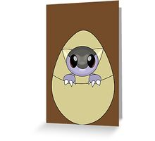 Kangaskhan baby Greeting Card