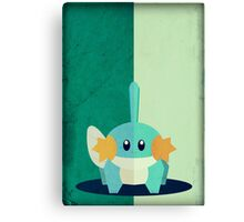 Pokemon - Mudkip #258 Canvas Print