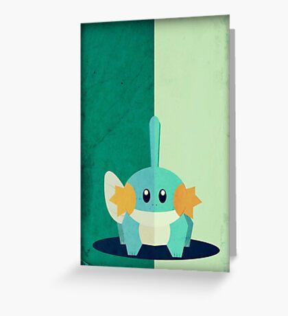 Pokemon - Mudkip #258 Greeting Card