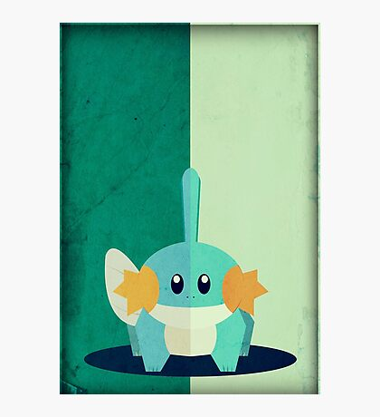 Pokemon - Mudkip #258 Photographic Print