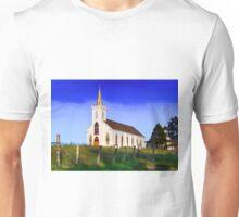 St. Teresa of Avila Catholic Church, famous landmark in the little town of  Bodega, Unisex T-Shirt