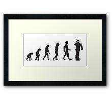 Evolution: Upgraded Framed Print