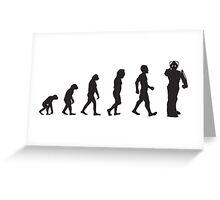 Evolution: Upgraded Greeting Card